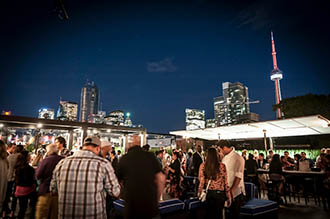 The Patio Launch at Cube.  Photo by