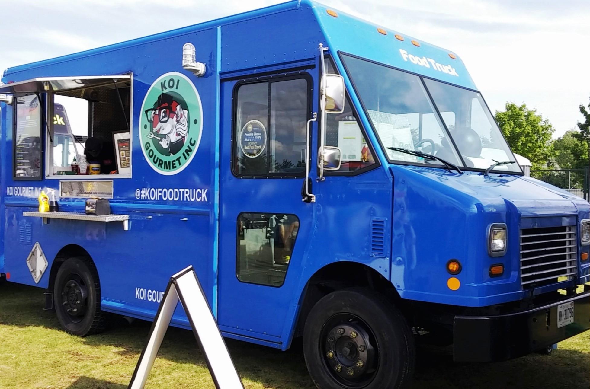 koi food truck toronto