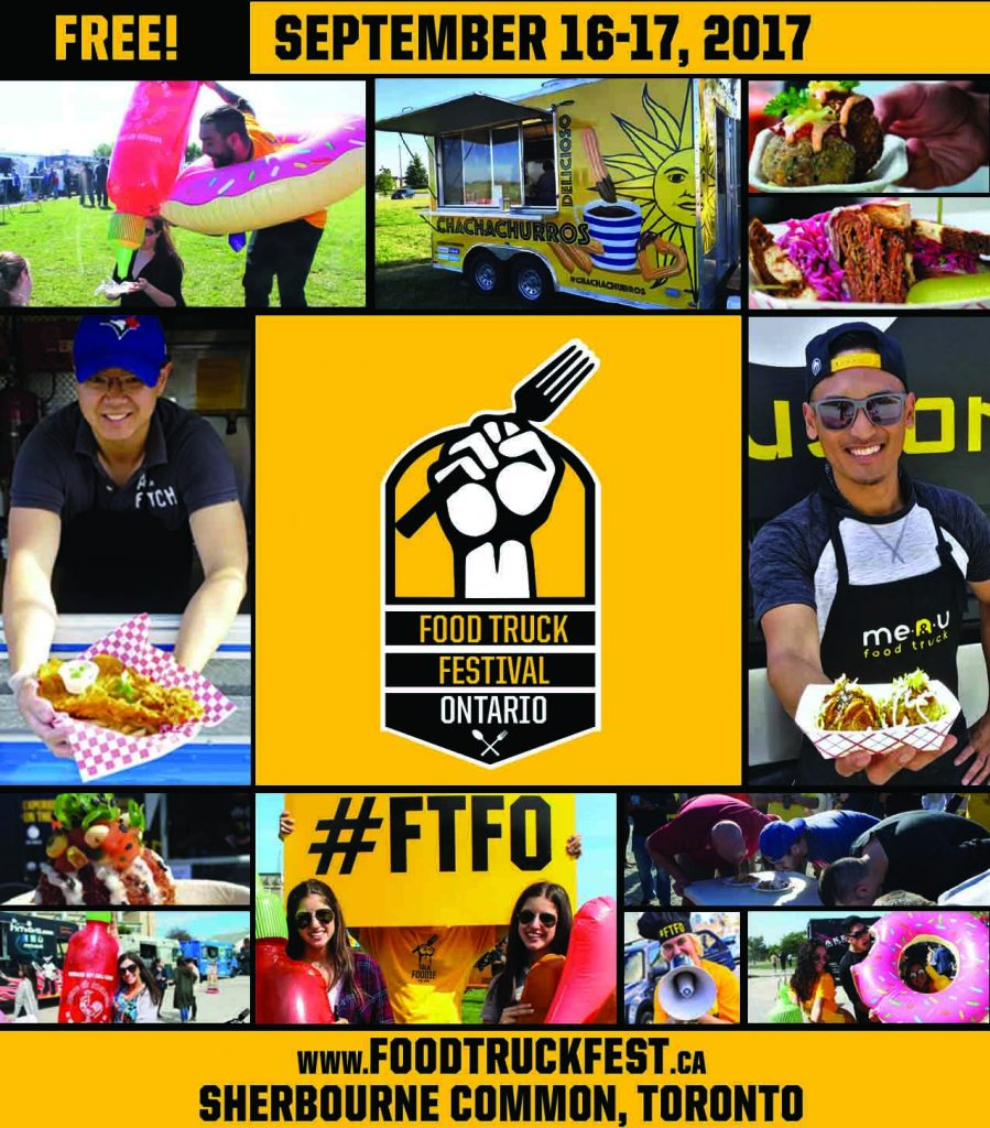 Free foodie festival in Toronto
