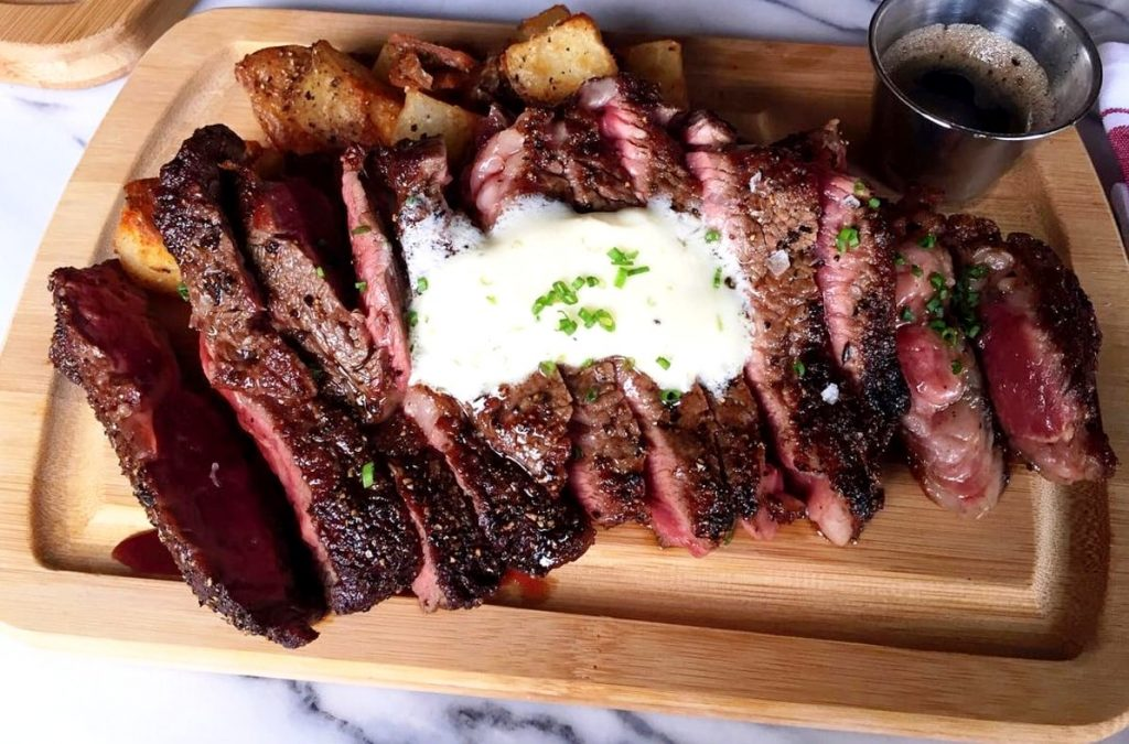 The steak frites at Goods and Provisions