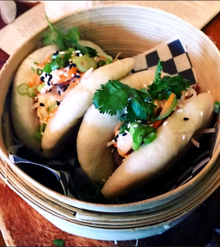 bulgogi steamed bao buns from Pinkerton's Snack Bar