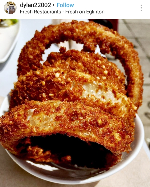 Fresh Onion Ring Quinoa