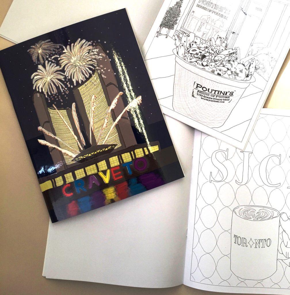 CraveTO Colouring Book