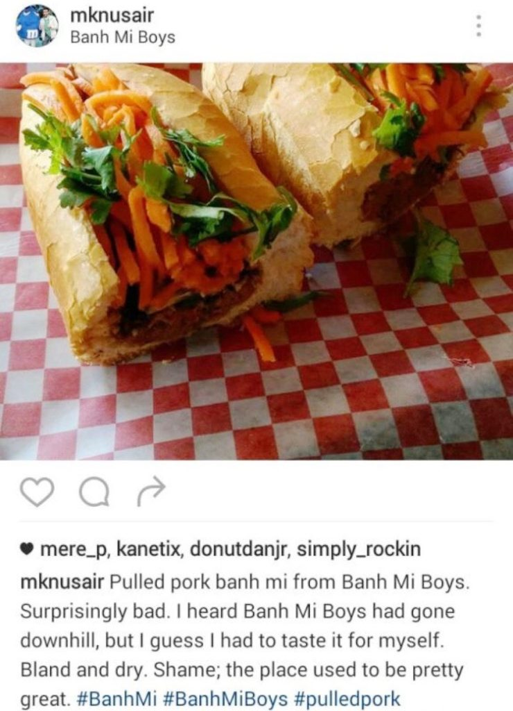 Banh Mi Boys Review
