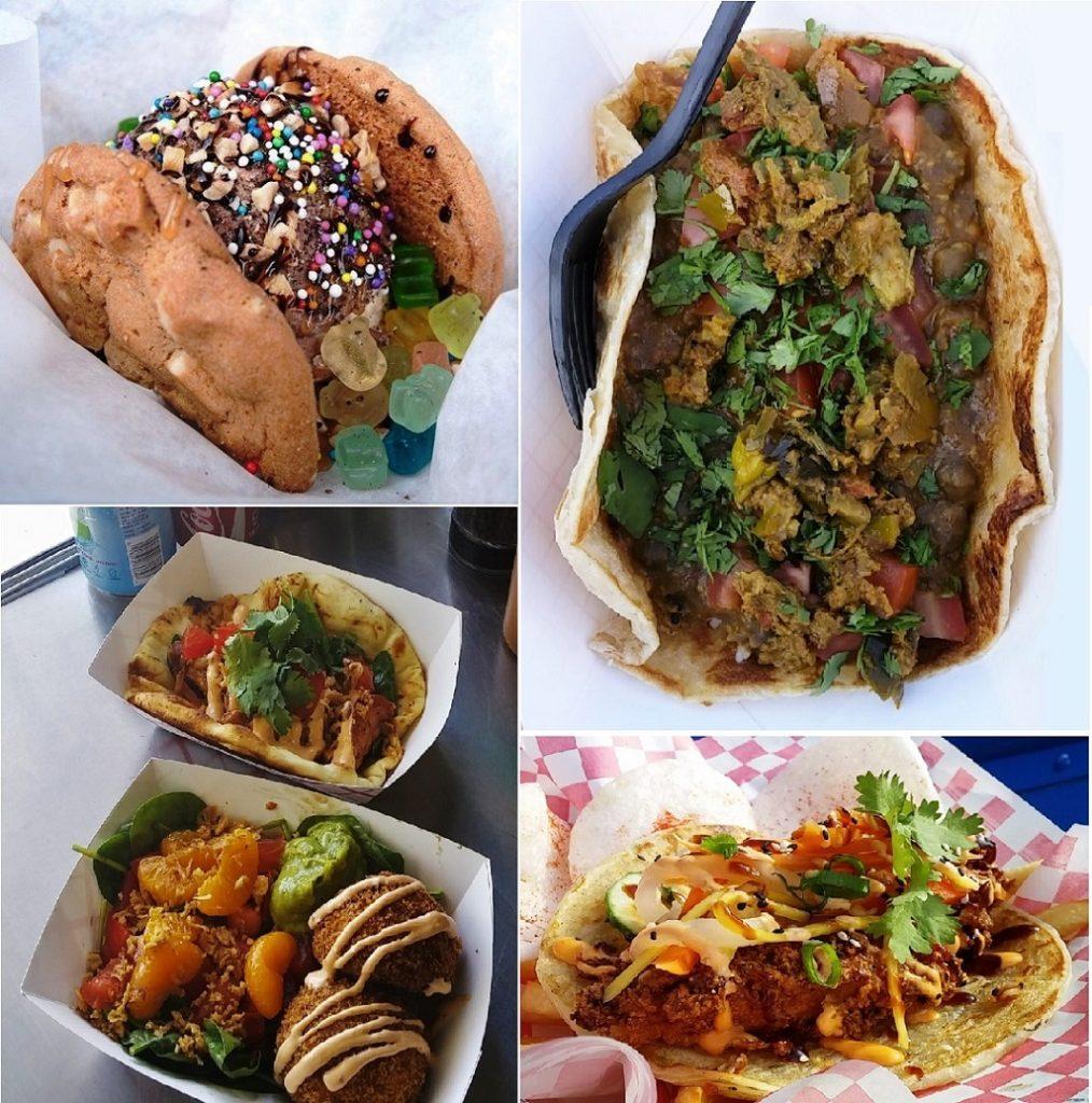 golden fork food truck food