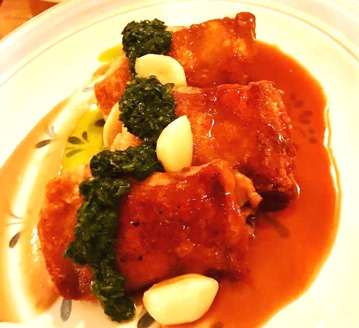Lamesa's Adobo dish