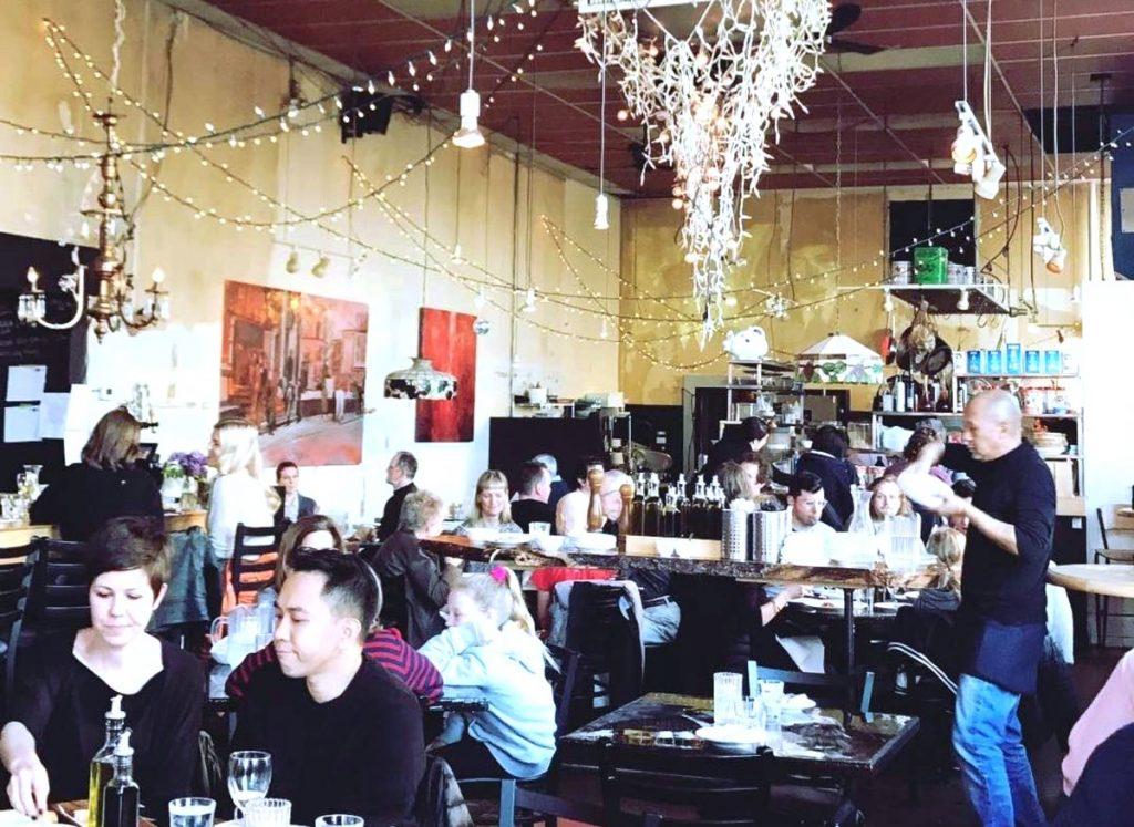 Dining at Gio Rana's Really Really Nice Restaurant The Nose