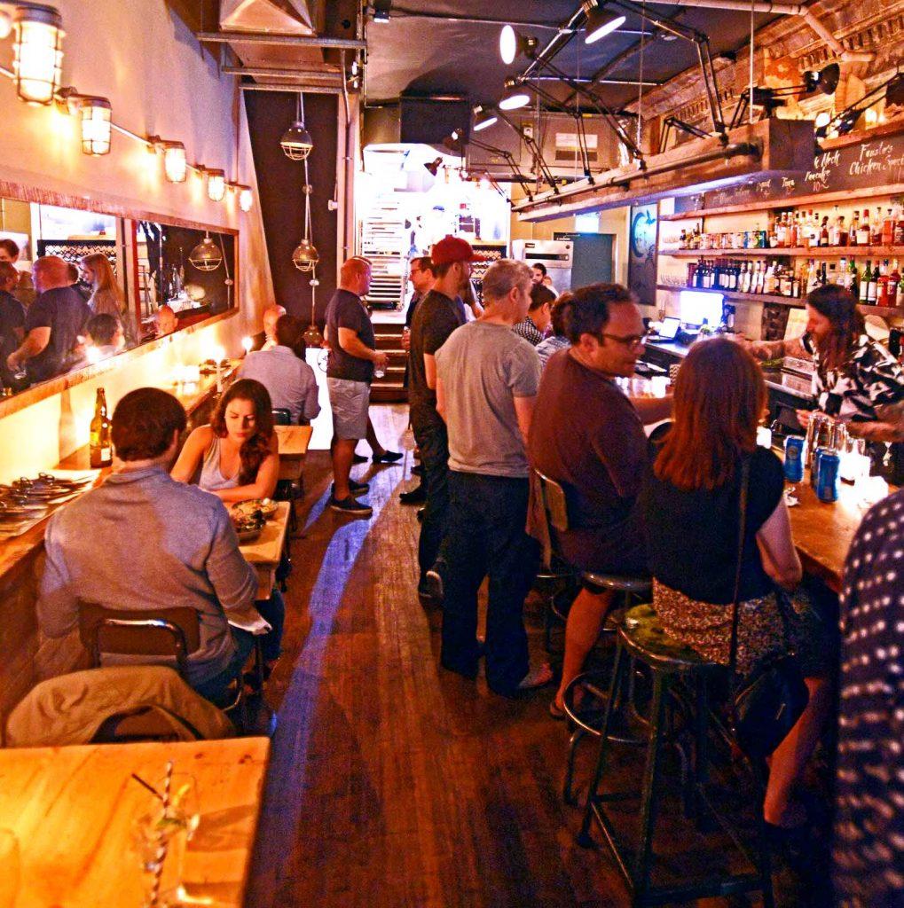 Pinkertons snack bar in Toronto