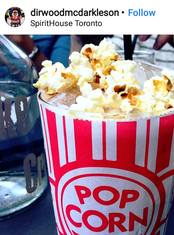 Popcorn Cocktail toronto