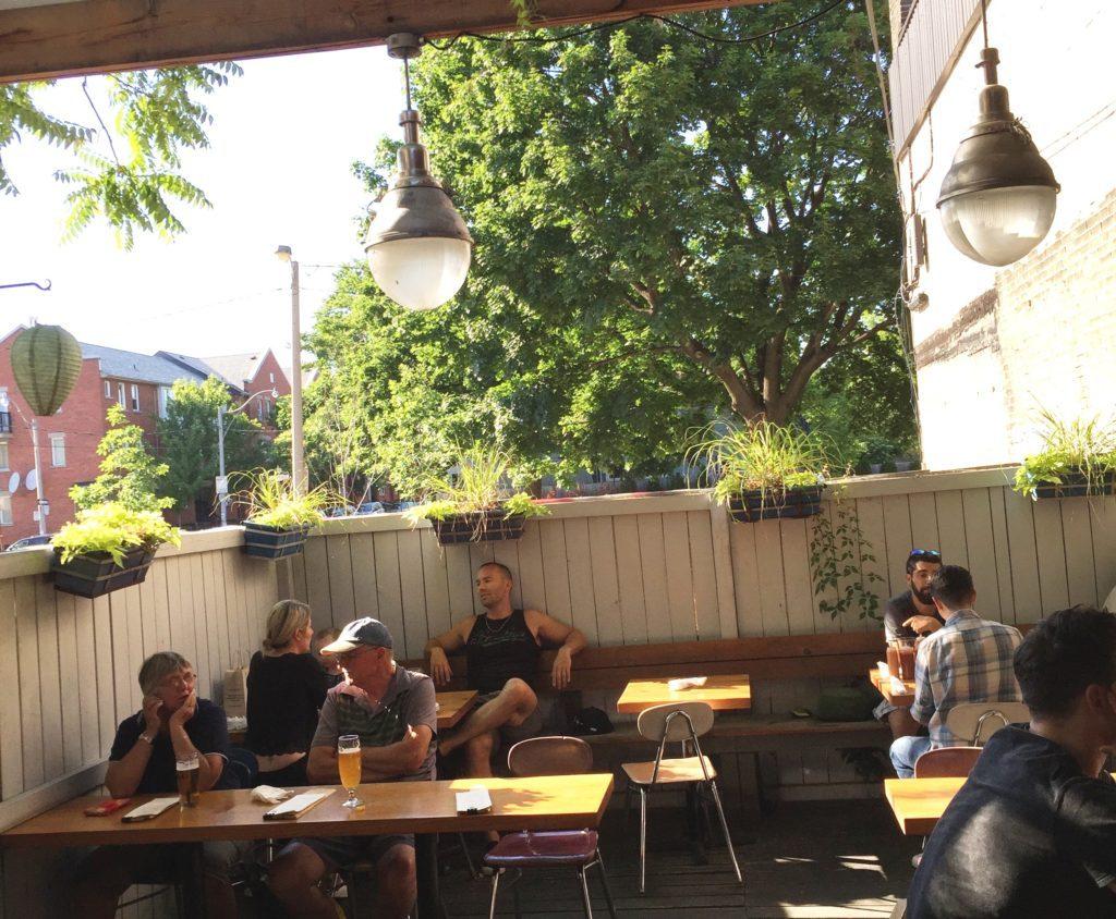 Aft bar Queen East Happy Hour